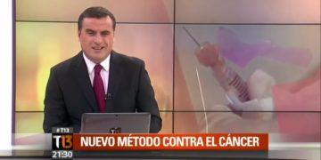 Testimonio en Canal 13 de persona curada de cáncer Inmunoterapia contra el cáncer