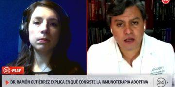 Entrevista a Recell TVN 24 horas ( inmunoterapia en cáncer)